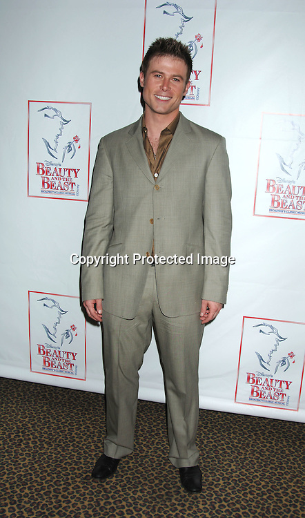 """Jacob Young..at The 5000th performance of """"Beauty and The Beast"""" party on June 20, 2006 at Planet Hollywood...Jacob Young of All My Children is starring as Lumiere. ..Robin Platzer, Twin Images"""