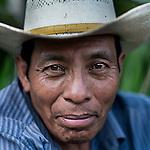 24 noviembre 2014. <br /> Mariano Ical L&iacute;der comunal y Vecino en contra de la Hidroelectrica Renace.<br /> La llegada de algunas compa&ntilde;&iacute;as extranjeras a Am&eacute;rica Latina ha provocado abusos a los derechos de las poblaciones ind&iacute;genas y represi&oacute;n a su defensa del medio ambiente. En Santa Cruz de Barillas, Guatemala, el proyecto de la hidroel&eacute;ctrica espa&ntilde;ola Ecoener ha desatado cr&iacute;menes, violentos disturbios, la declaraci&oacute;n del estado de sitio por parte del ej&eacute;rcito y la encarcelaci&oacute;n de una decena de activistas contrarios a los planes de la empresa. Un grupo de ind&iacute;genas mayas, en su mayor&iacute;a mujeres, mantiene cortado un camino y ha instalado un campamento de resistencia para que las m&aacute;quinas de la empresa no puedan entrar a trabajar. La persecuci&oacute;n ha provocado adem&aacute;s que algunos ecologistas, con &oacute;rdenes de busca y captura, hayan tenido que esconderse durante meses en la selva guatemalteca.<br /> <br /> En Cob&aacute;n, tambi&eacute;n en Guatemala, la hidroel&eacute;ctrica Renace se ha instalado con amenazas a la poblaci&oacute;n y falsas promesas de desarrollo para la zona. Como en Santa Cruz de Barillas, el proyecto ha dividido y provocado enfrentamientos entre la poblaci&oacute;n. La empresa ha cortado el acceso al r&iacute;o para miles de personas y no ha respetado la estrecha relaci&oacute;n de los ind&iacute;genas mayas con la naturaleza. &copy;Calamar2/ Pedro ARMESTRE<br /> <br /> The arrival of some foreign companies to Latin America has provoked abuses of the rights of indigenous peoples and repression of their defense of the environment. In Santa Cruz de Barillas, Guatemala, the project of the Spanish hydroelectric Ecoener has caused murders, violent riots, the declaration of a state of siege by the army and the imprisonment of a dozen activists opposed to the project . <br /> A group of Mayan Indians, mostly women, has cut a path and 