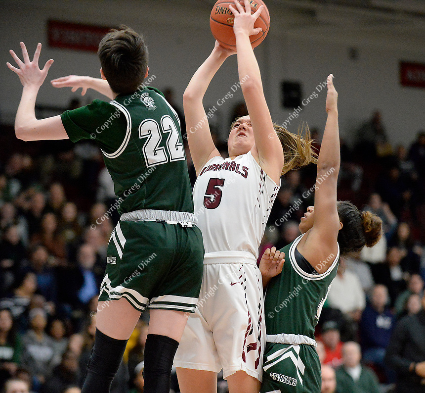 Madison Memorial at Middleton, Wisconsin WIAA girls high school basketball 1/31/20