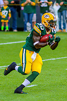 Green Bay Packers running back Jamaal Williams (30) during a preseason football game against the Philadelphia Eagles on August 10, 2017 at Lambeau Field in Green Bay, Wisconsin. Green Bay defeated Philadelphia 24-9.  (Brad Krause/Krause Sports Photography)