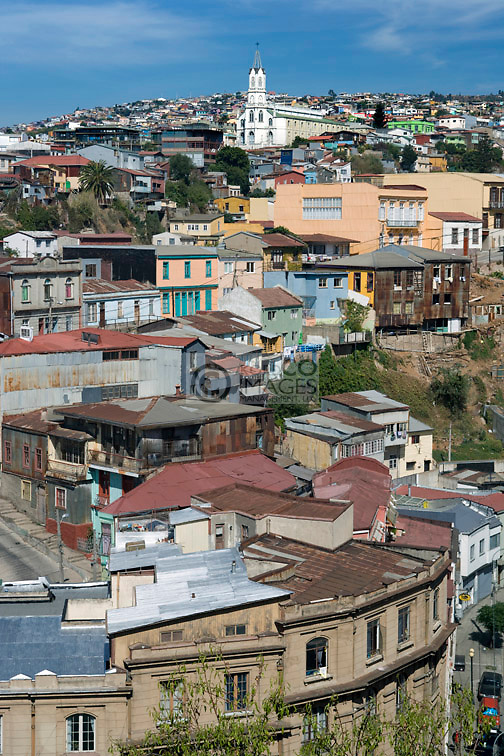 CERRO SAN JUAN DE DIOS BELLAVISTA VALPARAISO CHILE