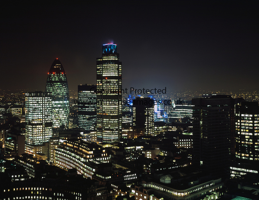 London Cityscape by Night
