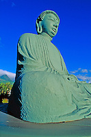 The Buddha statue at Jodo Mission in Lahaina, Maui