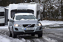 "28/03/16 <br /> <br /> Snow-covered 4x4 tows leaves camp site after snowfall in Buxton. <br /> <br /> Holiday makers camping in the Derbyshire Peak District woke up to an unexpected white blanket this morning, thanks to Storm Katie.<br /> The covering of snow meant that many campers cut short their plans for a long weekend away, to brave the icy roads and head home early on Monday morning.<br /> But it wasn't all bad news for some of the younger guests at Grin Low Caravan Site in Buxton.<br /> Three-year-old Greta Williams made the most of the morning's surprise by building a snowman and enjoying snowball fights with her aunt Claire Jones. <br /> Claire said it was the first time she had been camping in the snow. <br /> ""It was completely unexpected but it's made it a trip to remember,""she said. <br /> ""Greta really enjoyed making the snowman, but I think we'll head back home now in case any more falls.""<br /> For Chris and Lorraine McCoy the first they knew of the snow was when they woke up and stuck their heads out of their tent.<br /> They had travelled to Buxton from Warwickshire with their four-year-old son Joe, to enjoy a weekend break.<br /> ""It's all part of the adventure,"" said Chris. ""It's a bit cold in the tent but we'll soon warm up, and it's made the surrounding countryside really beautiful.""<br /> <br /> All Rights Reserved: F Stop Press Ltd. +44(0)1335 418365   +44 (0)7765 242650 www.fstoppress.com"