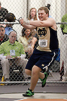 Notre Dame's Nick Hauser (180)