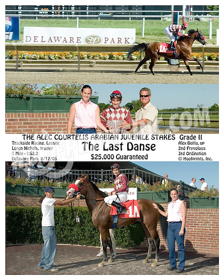 The Last Danse winning at Delaware Park on 8/12/06