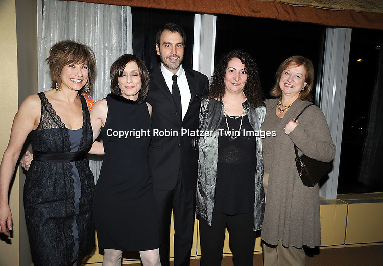 One Life to Live writers with Ron Carlivati, head writer..attending The 61st Annual Writer's Guild Awards on February 7, 2009 at The Hudson Theatre at The Millennium Broadway Hotel in New York City.....Robin Platzer, Twin Images