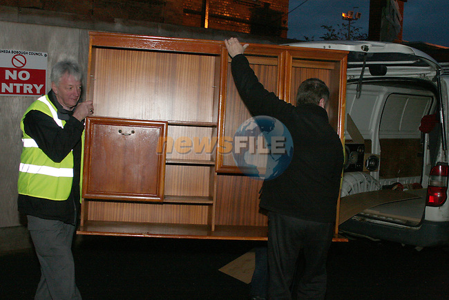 Flood victims collection Fair Street...Photo NEWSFILE/Jenny Matthews.(Photo credit should read Jenny Matthews/NEWSFILE)....This Picture has been sent you under the condtions enclosed by:.Newsfile Ltd..The Studio,.Millmount Abbey,.Drogheda,.Co Meath..Ireland..Tel: +353(0)41-9871240.Fax: +353(0)41-9871260.GSM: +353(0)86-2500958.email: pictures@newsfile.ie.www.newsfile.ie.FTP: 193.120.102.198.