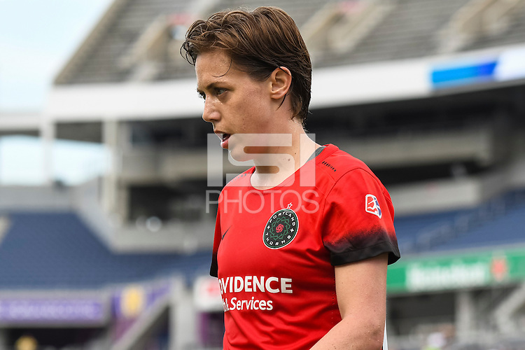 Orlando, FL - Sunday June 26, 2016: Meghan Klingenberg  during a regular season National Women's Soccer League (NWSL) match between the Orlando Pride and the Portland Thorns FC at Camping World Stadium.