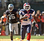 Buffalo Bills defensive back Terrence McGee (24) makes big run on Sunday, September 19, 2004, in Oakland, California. The Raiders defeated the Bills 13-10.