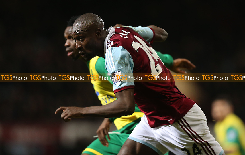 Carlton Cole of Wst Ham - West Ham United vs Norwich City, Barclays Premier League at Upton Park, West Ham - 11/02/14 - MANDATORY CREDIT: Rob Newell/TGSPHOTO - Self billing applies where appropriate - 0845 094 6026 - contact@tgsphoto.co.uk - NO UNPAID USE