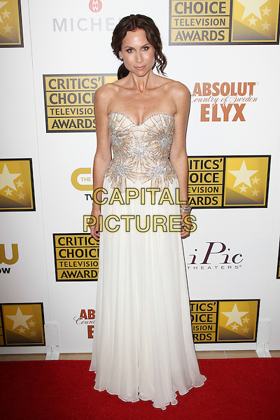 BEVERLY HILLS, CA - JUNE 19: Minnie Driver attending The 4th Annual Critics' Choice TV Awards held at The Beverly Hilton Hotel in Beverly Hills, California on June 19th, 2014.  <br /> CAP/MPI/RTNUPA<br /> &copy;RTNUPA/MediaPunch/Capital Pictures