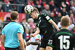 01.12.2018, RheinEnergieStadion, Koeln, GER, 2. FBL, 1.FC Koeln vs. SpVgg Greuther Fürth,<br />  <br /> DFL regulations prohibit any use of photographs as image sequences and/or quasi-video<br /> <br /> im Bild / picture shows: <br /> Kopfball durch Paul Jaeckel (Fuerth #23), <br /> <br /> Foto © nordphoto / Meuter