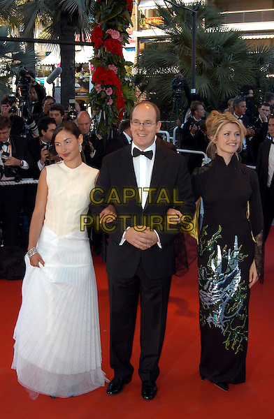 "PRINCE ALBERT OF MONACO.arrivals at opening film.""Fanfan la Tulipe"".Cannes Film Festival 2003.www.capitalpictures.com.sales@capitalpictures.com.©Capital Pictures.ladies man"
