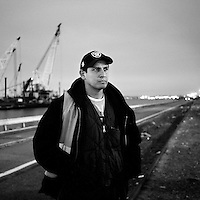 On the waterfront by Andrew Testa