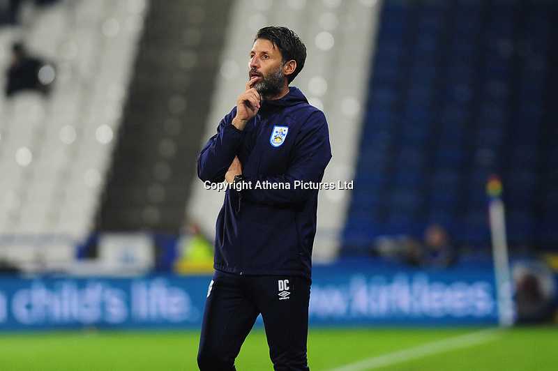 Manager of Huddersfield Town in action during the Sky Bet Championship match between Huddersfield Town and Swansea City at The John Smith's Stadium in Huddersfield, England, UK. Tuesday 26 November 2019