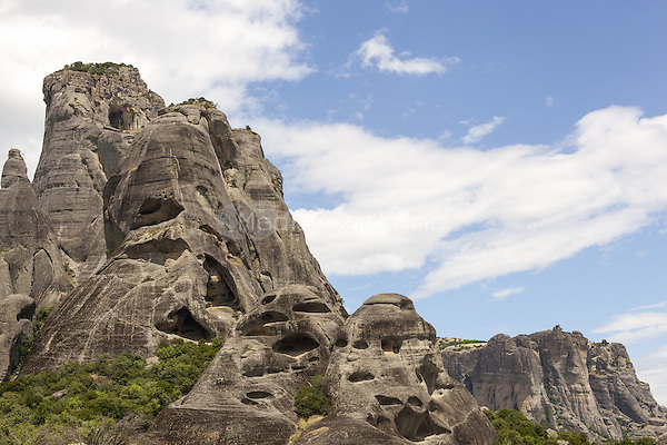 Rock formation at Meteora, Thessaly, Greece <br /> CAP/MEL<br /> &copy;MEL/Capital Pictures /MediaPunch ***NORTH AND SOUTH AMERICA ONLY***