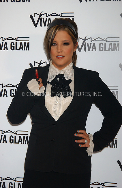 WWW.ACEPIXS.COM . . . . . ....September 6, 2006, New York City. ....Lisa Marie Presley attends the M.A.C. Aids Fund Press Conference announcing the new Viva Glam VI Campaign.....Please byline: KRISTIN CALLAHAN - ACEPIXS.COM.. . . . . . ..Ace Pictures, Inc:  ..(212) 243-8787 or (646) 769 0430..e-mail: info@acepixs.com..web: http://www.acepixs.com
