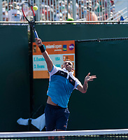 DANIEL EVANS (GBR)<br /> <br /> MIAMI OPEN, CRANDON PARK, KEY BISCAYNE, FLORIDA, USA<br /> <br /> &copy; TENNIS PHOTO NETWORK