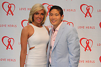 Emily and Lawrence Chu attend The Let's Misbehave Party to Benefit Love Heals on July 19, 2014 (Photo By Taylor Donohue/Guest Of A Guest)
