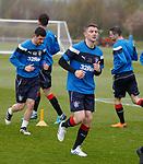 04.05.2018 Rangers training: Jordan Rossiter