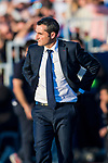 Coach Luis Ernesto Valverde Tejedor of FC Barcelona looks on during the La Liga 2017-18 match between CD Leganes vs FC Barcelona at Estadio Municipal Butarque on November 18 2017 in Leganes, Spain. Photo by Diego Gonzalez / Power Sport Images