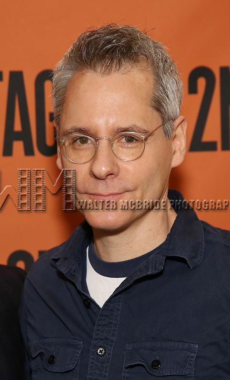 Bruce Norris attends the cast photo call for the Second Stage production of  'A Parallelogram' at the Second Stage rehearsal studios on June 29, 2017 in New York City.