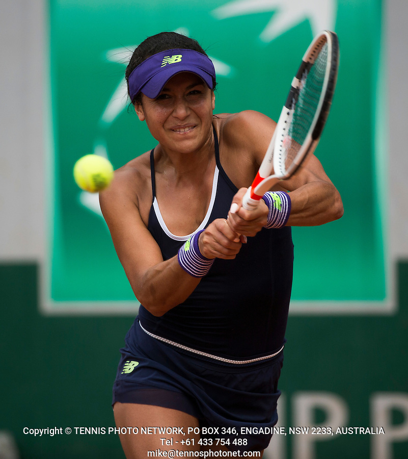 HEATHER WATSON (GBR)<br /> <br /> TENNIS - FRENCH OPEN - ROLAND GARROS - ATP - WTA - ITF - GRAND SLAM - CHAMPIONSHIPS - PARIS - FRANCE - 2016  <br /> <br /> <br /> <br /> &copy; TENNIS PHOTO NETWORK