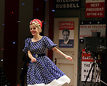 Kerry Butler.during the Broadway Opening Night Performance Curtain Call for 'Gore Vidal's The Best Man' at the Gerald Schoenfeld Theatre in New York City on 4/1/2012