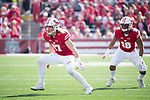 Wisconsin Badgers linebacker Andrew Van Ginkel (17) during an NCAA Big Ten Conference football game against the Maryland Terrapins Saturday, October 21, 2017, in Madison, Wis. The Badgers won 38-13. (Photo by David Stluka)
