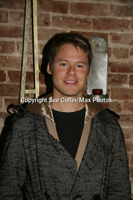 "Randy Harrison - Queer as Folk - Opening Night of the play ""The Duchess of Malfi"" on February 23, 2010 at the Red Bull Theatre, New York City, NY. (Photos by Sue Coflin/Max Photos)"