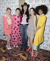 10 March 2019 - Los Angeles, California - Laura Slade Wiggins, Sophia Lillis, Katt Shea, Mackenzie Graham, Zoe Renee<br /> . World Premiere of 'Nancy Drew and the Hidden Staircase' held at AMC Century City 15. Photo Credit: PMA/AdMedia
