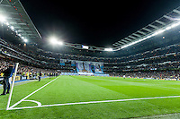 Santiago Bernabeu Stadium moments before match starts