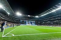 Santiago Bernabeu Stadium moments before match starts