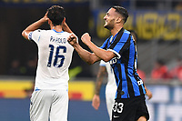 Danilo D'Ambrosio of FC Internazionale celebrates after scoring the goal of 1-0 for his side <br /> Milano 25/09/2019 Stadio Giuseppe Meazza <br /> Football Serie A 2019/2020 <br /> FC Internazionale - SS Lazio <br /> Photo Matteo Gribaudi / Image Sport / Insidefoto