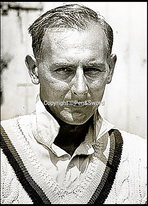 BNPS.co.uk (01202 558833)<br /> Pic: Pen&Sword/BNPS<br /> <br /> England cricketer Hedley Verity who took 15 wickets in the 2nd test match for the Ashes against Australia at Lords in June 1934, he served in the 1st Battalion Yorkshire Regiment and died 31 July 1943.<br /> <br /> The tragic stories of the 10 test players and 130 first class cricketers who lost their lives in the Second World War are told in a fascinating new book.<br /> <br /> The outbreak of the war prompted cricketers to swap their whites for uniform and pitch up at the various battlegrounds of the conflict to do their duty.<br /> <br /> Many cricketers excelled themselves in combat - distinguishing themselves with their bravery and their intelligence.<br /> <br /> In The Coming Storm, screenwriter Nigel McCrery reveals each man's career details, including cricketing statistics and the circumstances of death.