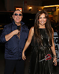 Tommy Mottola and wife Thalia attending the opening night performance for 'Springsteen on Broadway' at The Walter Kerr Theatre on October 12, 2017 in New York City.
