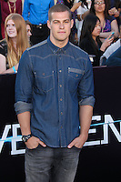 "WESTWOOD, LOS ANGELES, CA, USA - MARCH 18: Greg Finley at the World Premiere Of Summit Entertainment's ""Divergent"" held at the Regency Bruin Theatre on March 18, 2014 in Westwood, Los Angeles, California, United States. (Photo by Xavier Collin/Celebrity Monitor)"
