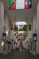 Royaume-Uni, îles Anglo-Normandes, île de Guernesey, Saint Peter Port:Le Market Hall   // United Kingdom, Channel Islands, Guernsey island, Saint Peter Port: Market Hall