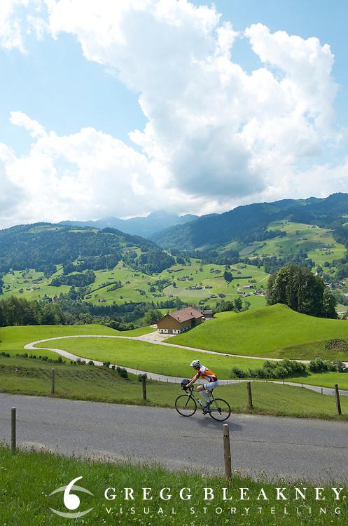 Co-Motion road bike in Switzerland