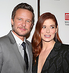 Will Chase and Debra Messing attend the 'Outside Mullinger' Broadway opening night after party at The Copacabana on January 23, 2014 in New York City.