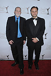 CENTURY CITY, CA. - February 20: Bill Guttentag and Dan Sturman arrive at the 2010 Writers Guild Awards at the Hyatt Regency Century Plaza Hotel on February 20, 2010 in Los Angeles, California.