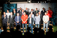 80th Aniversary of the National Basketball Team at Melia Castilla Hotel, Spain, September 01, 2015. <br /> (ALTERPHOTOS/BorjaB.Hojas) / NortePhoto.Com