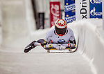 8 January 2016: Jacqueline Loelling, competing for Germany, completes her second run of the BMW IBSF World Cup Skeleton race with a combined 2-run time of 1:51.52, earning an 8th place finish for the day at the Olympic Sports Track in Lake Placid, New York, USA. Mandatory Credit: Ed Wolfstein Photo *** RAW (NEF) Image File Available ***