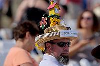 Bodemeister fan during Black Eyed Susan Day at Pimlico Race Course on Black Eyed Susan Day in Baltimore, MD on 05/18/12. (Ryan Lasek/ Eclipse Sportswire)