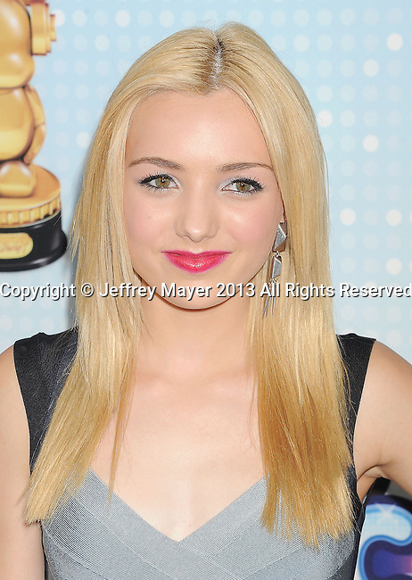 LOS ANGELES, CA- APRIL 27: Actress Peyton List arrives at the 2013 Radio Disney Music Awards at Nokia Theatre L.A. Live on April 27, 2013 in Los Angeles, California.