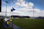An interior view of the stadium before Coleraine played Spartak Subotica of Serbia in a Europa League Qualifying First Round second leg at the Showgrounds, Coleraine. The hosts from Northern Ireland had drawn the away leg 1-1 the previous week, however, the visitors won the return leg 2-0 to progress to face Sparta Prague in the next round, watched by a sell-out crowd of 1700.