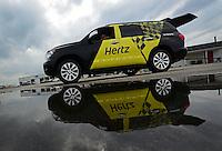 31 August - 3 September, 2012, Indianapolis, Indiana USA, Tony Pedregon, K-Love, Toyota Camry, funny car, Toyota Sequoia, tow vehicle @2012, Mark J. Rebilas