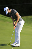 Jeong Eun Lee (KOR) putts on the 5th green during Thursday's Round 1 of The Evian Championship 2018, held at the Evian Resort Golf Club, Evian-les-Bains, France. 13th September 2018.<br /> Picture: Eoin Clarke | Golffile<br /> <br /> <br /> All photos usage must carry mandatory copyright credit (&copy; Golffile | Eoin Clarke)