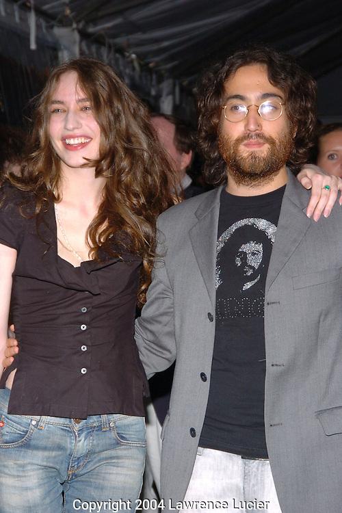 Elizabeth Jagger and Sean Lennon